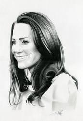 Kate Middleton by davepinsker
