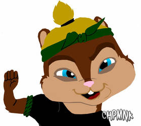 me as a chipmunk by chpmnk