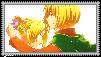 Armin x Annie Stamp by Shichi-Saruko