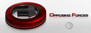 Opposing Forces - 3D Logo by Axertion