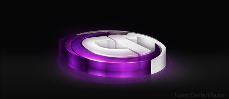 Team CoolerMaster - 3D Logo by Axertion