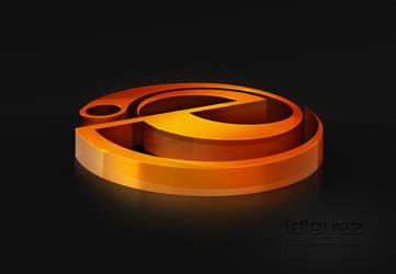 idleyez - 3D Logo by Axertion