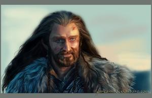 The King (Thorin Oakenshield) by GarkainN