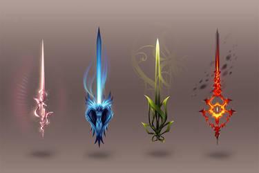 Swords by Ann-Jey