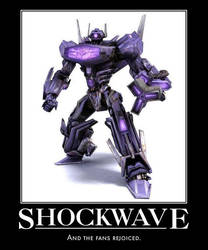War For Cybertron Shockwave by Snapperworth