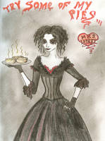 Mrs. Lovett by Kittyfreak66