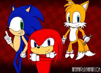 Team Sonic! by nintenfan96