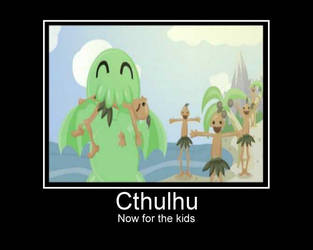 Cthulhu for the kids! by priorchaos