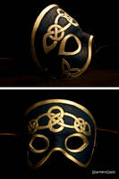 Celtic Mask Finished by SparklersOasis