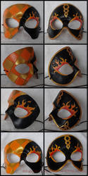 Masquerade mask details by SparklersOasis