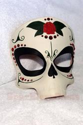 Sugar Skull mask by SparklersOasis