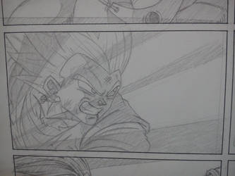 DBM - Storyboard Opening - Vegetto Kame Hame Ha #1 by Animaster3000