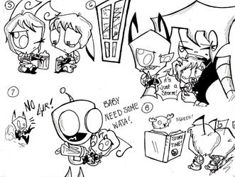 Miz and zag doodles 2 of 2 by DB-artwork