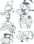Doodles by DB-artwork