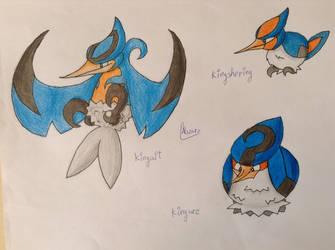 Pokemon - Angea Region - The Typical Bird by JTortitas