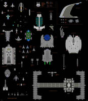 My Spaceships by GuardianLord