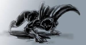 Black Panther Sketch by mcguinnessjohn