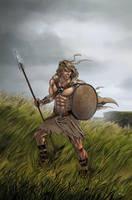 Celtic Warrior by mcguinnessjohn
