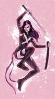 Psylocke by mcguinnessjohn