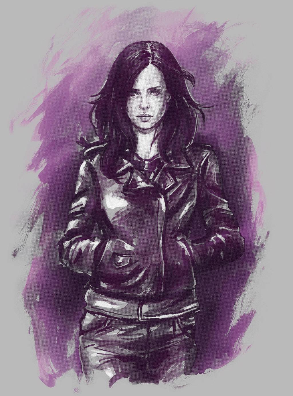 Jessica Jones by mcguinnessjohn