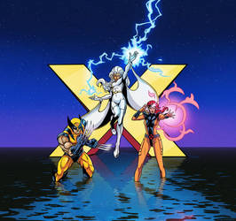 X-Men: The Animated Series by mcguinnessjohn