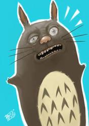 -Totoro- by peerro
