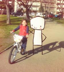 Mi sobrina y su amigis. by peerro