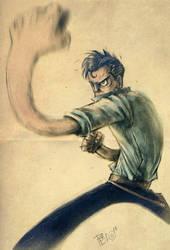 Jack Tenrec by peerro