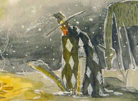 Capeando el frio. by peerro
