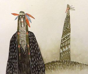 Nativos norte americanos by peerro