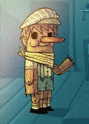 Pinocchio by peerro