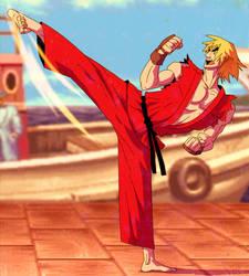 Ken - Street fighter by peerro