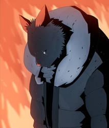 Te Fire Cat by peerro