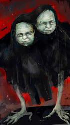 Twin Victims by peerro