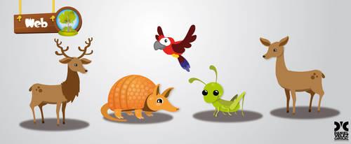 Animales vector by Daniel-Velez