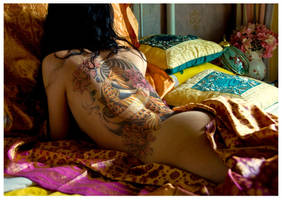 Superimposed tattoo Koi Fish by Imagink