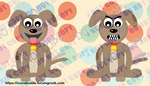 Dog mascot by IconSkoulikiGraphics