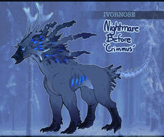 Festive dread Ivornose AUCTION (CLOSED) by Tokyozilla