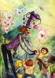 Magic Balloons by Tung-Monster