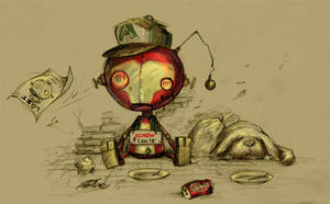 Lost iron kid by Tung-Monster