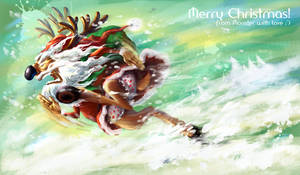 Merry Christmas 2010 by Tung-Monster
