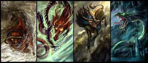 Cover artwork for Jade Dynasty novel by Tung-Monster