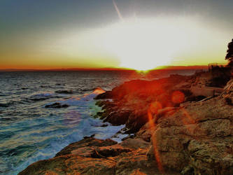 Sunset by Asheza