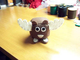 Moose Cube Plushie by JeffSproul