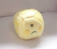 Cheese Cube Plushie by JeffSproul