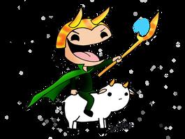 Loki - i'm a GOD by AniiTaRuiz