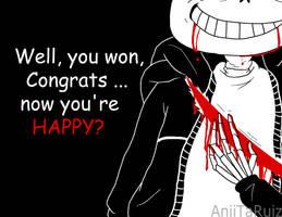 Sans - now you're Happy by AniiTaRuiz