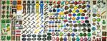 Perler Bead Minecraft Sprites by thewiredslain