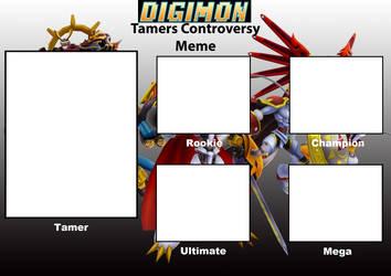 Digimon Tamer Controversy Meme Ver. 2 by Wyvernsaurus