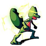 Treecko - Absorb by Viral-Zone